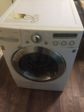 LG Washer  3 5 cu ft Large Capacity Front Load Washer with TrueSteam  Technology