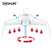 Electric Clothes Dryer Hanger Heated Clothes Shoes Rack Foldable Laundry Travel