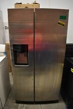 Samsung RS25H5111SR 36  Stainless Side By Side Refrigerator NOB  51373