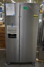 Whirlpool WRS325SDHZ 36  Stainless Side By Side Refrigerator NOB  107205