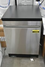 GE GPT225SSLSS 24  Stainless Fully Integrated Portable Dishwasher NOB  110985
