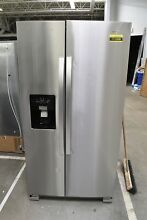 Whirlpool WRS325SDHZ 36  Stainless Steel Side By Side Refrigerator NOB  111508
