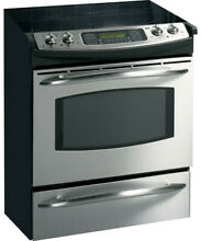 GE Profile Electric range with Convection oven 30  Stainless steel  PICKUP ONLY