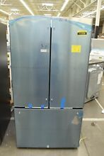 GE Cafe CWE23SP2MS1 36  Stainless French Door Refrigerator NOB  112558