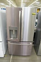GE GYE22GYNFS 36  Stainless Steel Counter Depth French Door Refrigerator  112749