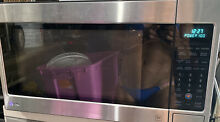 LG   2 0 Cu  Ft  Full Size Microwave Model LCRT2010ST Stainless steel PICK UP NJ