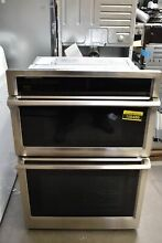Samsung NQ70M6650DS 30  Stainless Microwave Oven Combo Wall Oven  106486