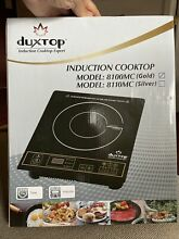 Secura DuxTop Black 11 5 in  Electric Induction Cooktop