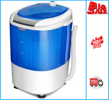 5 5lbs Portable Mini Compact Washing Machine Electric Laundry Spin Washer Dryer