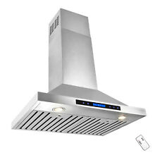 Europe 30  Kitchen Wall Mount Stainless Steel Range Hood Vent