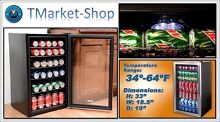 Stainless Steel Refrigerator Compact Cooler Beverage Center Indoor Outdoor Drink