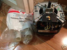 Whirlpool kitchenaid roopo kenkoer motor and pump model no c68ptmwm 4496 3363394