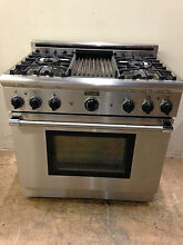 Thermador P364GLCS 36  Gas Professional Range 4 Burner   Grill Stainless Steel