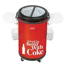 Koolatron Coca Cola Indoor Outdoor Party Fridge CCPC50 drinks Cooler NEW