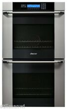 MOV230S Dacor 30  Double Electric Wall Oven  Vertical Glass Stain