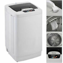Portable Washing Machine Washer Small Automatic 1 87 Cu ft 12 lbs Spin New