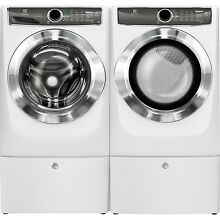 Electrolux White Front Load Washer  Electric Dryer  Peds EFLS617SIW   EFME617SIW