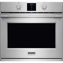 Frigidaire Stainless PRO 30  Electric Single Wall Oven Convection FPEW3077RF