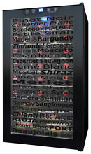 Vinotemp   34 Bottle Varietal Wine Cellar   Black