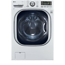 LG 4 3 Cubic Foot Front Load Washer Dryer Combo LED Display  1200RPM WM3997HWA