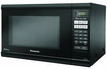 Panasonic Microwave Countertop 1 2 cu  ft  1200Watts   Black