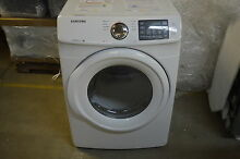 Samsung DV42H5000EW 27  White Front Load Electric Dryer NOB  8943 STS