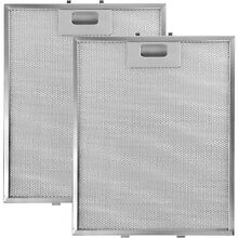 BAUKNECHT Genuine Cooker Hood Vent Silver Grease Extractor Filter 305 x 265mm x2