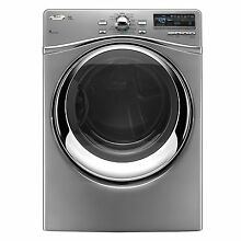Whirlpool WED95HEXL 27  Silver Front Load Electric Steam Dryer NIB  9300