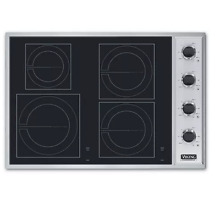Viking VICU2064BSB 30  Stainless Smoothtop Electric Induction Cooktop NIB  13320