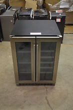 Danby DBC047D3BSSPR 24  Stainless Built In Beverage Center WLK T 2 NOB  13551