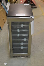 Danby DWC031D1BSSPR 15  Stainless Built In Wine Cooler T 2 NOB  13659