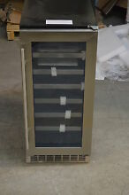 Danby DWC031D1BSSPR 15  Stainless Built In Wine Cooler T 2 NOB  13662