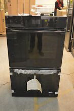 Jenn Air JJW2830DB 30  Black Floating Glass Double Wall Oven NOB  5407 T2