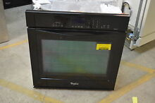 Whirlpool WOS92EC7AB 27  Black Single Electric Wall Oven NOB  13790 T2