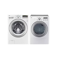 LG WM3270CW DLE2250W 27  White Washer Electric Dryer Laundry Set NEW DEAL NIB  1