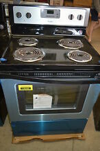 Whirlpool WFC310S0ES 30  Stainless Freestanding Electric Range NOB  14048 T2 CLW