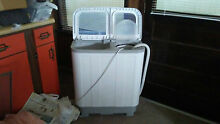Panda Portable Apartment Size Compact Washer 10 20 lbs   XPB45