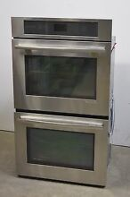 Jenn Air JJW2830WS 30  Stainless Double Electric Wall Oven Convection NEW  1141