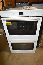 Maytag MEW7630DH 30  White Double Electric Wall Oven NOB T2  15847