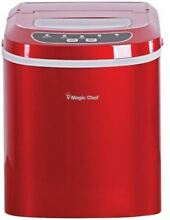 Magic Chef Portable Countertop Ice Maker  Stainless