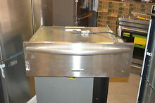 KitchenAid KEWS105BSS 30  Stainless Electric Warming Drawer NOB  15889