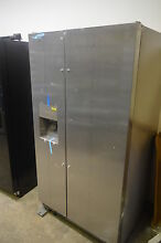 IKEA ISF25D2XBM 36  Stainless Side By Side Refrigerator NOB  5397 CLW