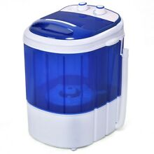 Portable Washing Machine Timer Compact Clothes Washer Laundry Dorm Condo