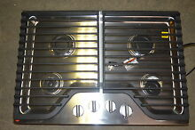 Whirlpool WCG51US0DS 30  Stainless Gas Cooktop w 4 Burner  6170 T2