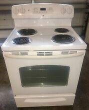 GE 5 3 cu ft  Self Cleaning Electric Range  250 OBO