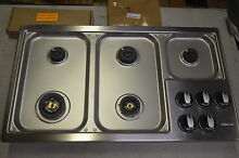 Dacor RGC365SLP 36  Stainless LP Gas Cooktop w 5 Sealed Burners   6136 NOB