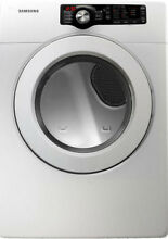 Samsung DV361GWBEWR 27  White Front Load Gas Dryer NIB  4643 HL