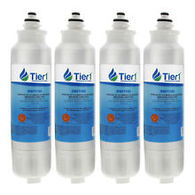 Fits LG LT800P ADQ72910901   Comparable Refrigerator Water Filter 4 Pack