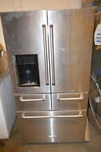 KitchenAid KRMF706ESS 36  Stainless French Door Refrigerator NOB  17880
