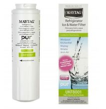 Water Filter Refrigerator Cartridge for MAYTAG AMANA Fridge UKF8001 UKF9001 x 2